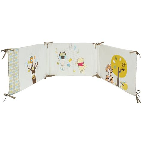 tour de lit winnie l ourson woodland babycalin gigoteuse