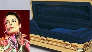 Michael Jackson39s 25000 Gold Plated Coffin Sponkit