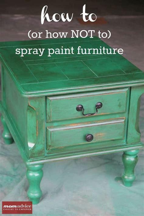 spray paint furniture momadvice