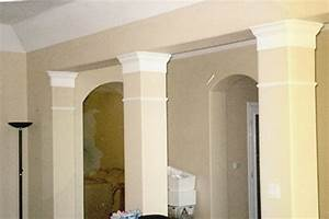 Photos interior columns and pillars pictures of interior for Decorative interior wall columns