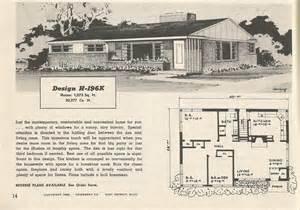 Retro House Plans Pictures by Vintage House Plans 196 Antique Alter Ego