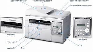 amazoncom samsung scx 3405fw wireless monochrome printer With samsung document scanner