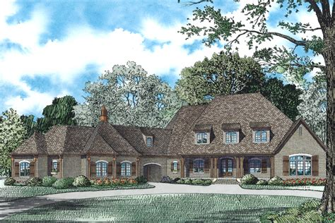 house plan    bdrm  sq ft french country home theplancollection