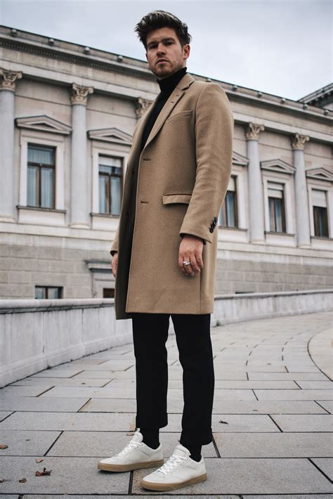 Fall Essentials - Sophisticated Look with Camel Coat u0026 Turtleneck | MEANWHILEINAWESOMETOWN
