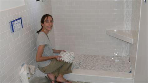 Tile Over Tile Shower Floor Houses Flooring Picture Ideas