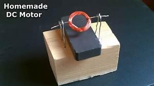 Homemade Dc Motor