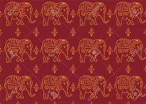 Indian Elephant Wallpaper Pattern - image #112
