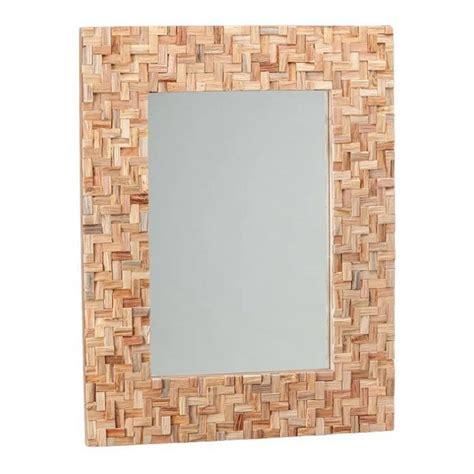 specchi con cornice in legno specchio bagno design con cornice in legno cross