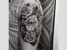 Tattoo Of Hundred Dollar Bill Rose Tattooart Hd