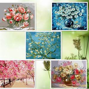 compare prices on free rose drawings online shopping buy With best brand of paint for kitchen cabinets with cherry blossom canvas wall art