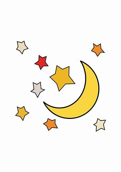 Moon Stars Sun Clipart Clip Transparent Svg