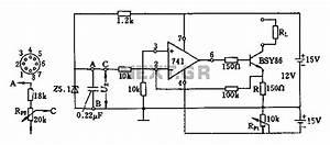 current source circuit diagram of the operational With current source circuit with cw117 basiccircuit circuit diagram