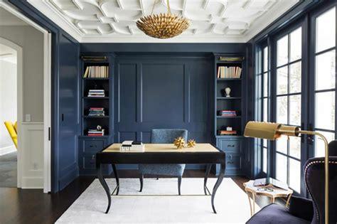peindre bureau peindre les murs intérieurs dans des couleurs sombres