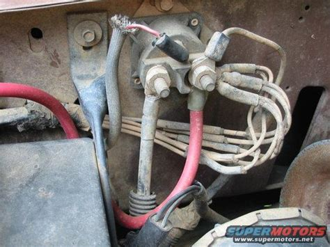 1989 Ford Ranger Starter Wiring Diagram by 1988 Ford Bronco Technical Stuff Picture Supermotors Net