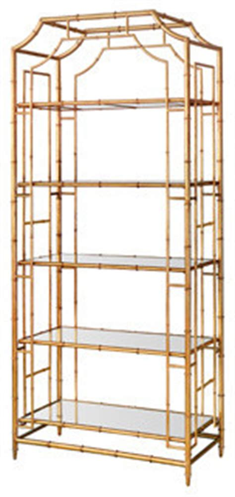 gold metal bookcase faux gold bamboo metal 201 tag 232 re asian bookcases by