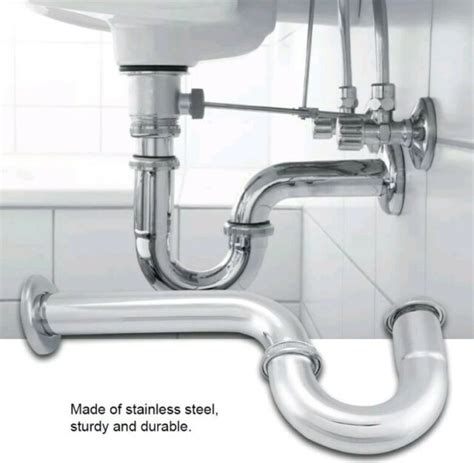 how to replace p trap in bathroom sink artcomcrea
