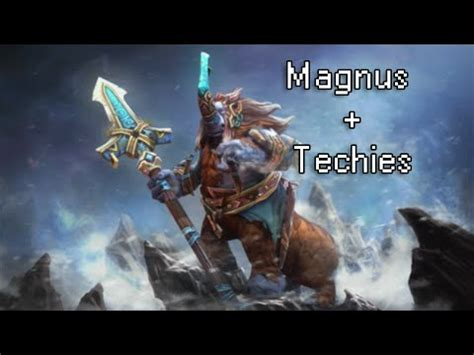 dota 2 magnus e techies gameplay pt br youtube