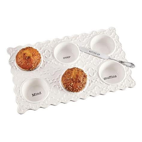 circa muffin pan set living mud pie christmas decor