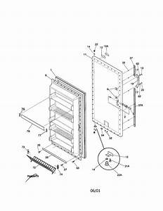 Frigidaire Ffu20f9gw3 Upright Freezer Parts