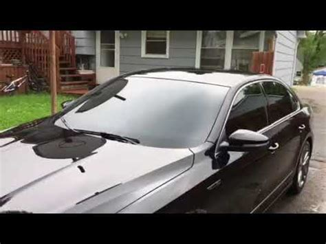 tint front windshield youtube