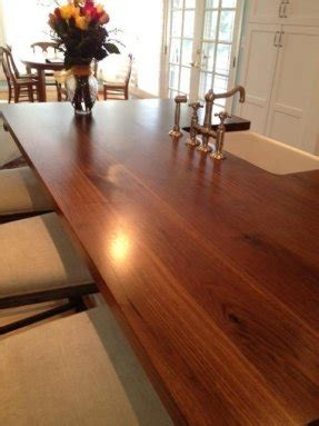 black butcher block island foter