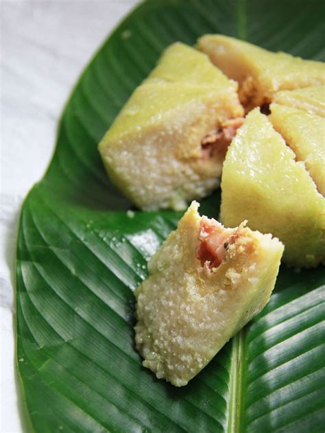 Dragon Boat Festival Rice Cake by Banh Chung Vietnamese Rice Cakes Recipe Dishmaps