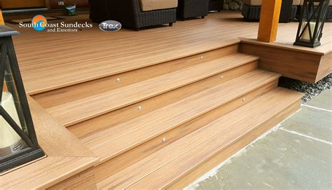 Trex Decking Frame Spacing by Featured Outdoor Living Space Trex Composite Deck