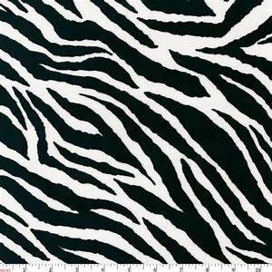 Black and White Zebra Minky Fabric by the Yard   Black ...