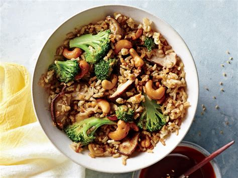 nutty fried rice recipe cooking light