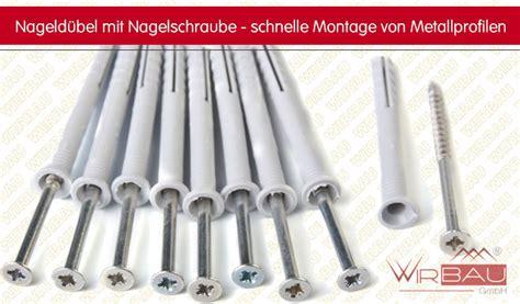 Dübel Für Fliesen Auf Rigips by Nageld 252 Bel M Nagelschraube Preiswerte Baustoffe