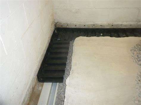 Interior Basement Waterproofing Service