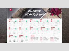 Get Printable 2019 Calendar with Indonesia Holidays