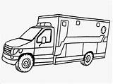 Ambulance Coloring Pages Printable Drawing Realistic Template Hospital Vehicle Driver Truck Drawings Sketch Line Getdrawings Carry Getcoloringpages Clipartmag Popular Templates sketch template