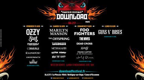 Download Festival 2018, Une Programmation De 4 Jours