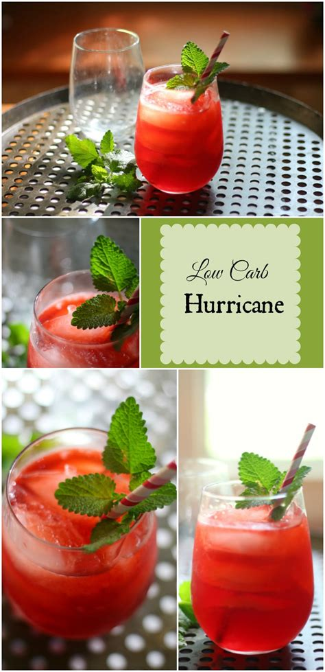 carb hurricane cocktail lowcarb ology