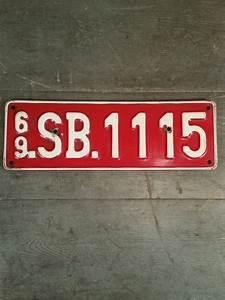 Plaque D Immatriculation Des Pays : plaque d 39 immatriculation vintage origine pays bas hollande ~ Medecine-chirurgie-esthetiques.com Avis de Voitures