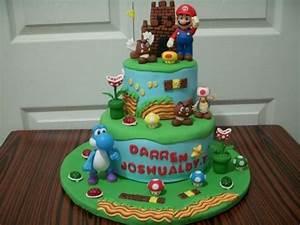 Super Mario Kuchen : super mario cake super mario torte deko ~ Frokenaadalensverden.com Haus und Dekorationen