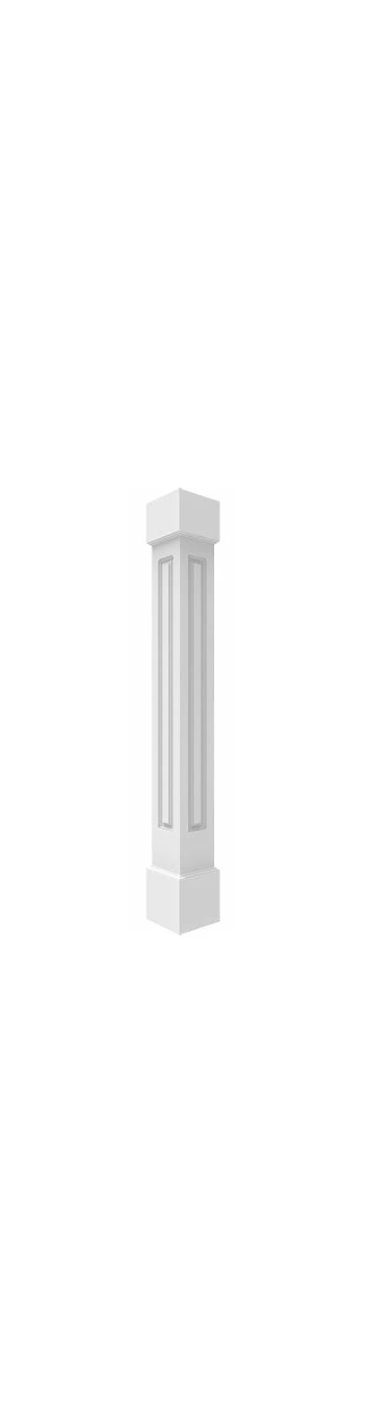 Pvc Columns Square Column Non Tapered Wraps
