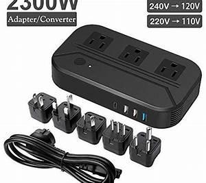 Voltage Converter 2300w Power Step Down 220v To 110v