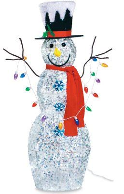 outdoor lighted snowman funk with an outdoor lighted snowman funk this house