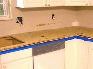 How To Demolish A Kitchen Countertop And Install Backer