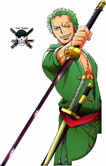 Zoro Piece Roronoa Render Luffy Deviantart Sanji