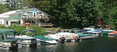 Bass Lake Cing Boat Rentals by Kezar Lake Marina Lovell Maine