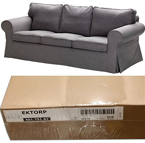 sofa covers online amazon ikea ektorp 3 seat sofa slipcover svanby gray cover only
