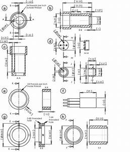 Engineering Drawings Of The Individual Parts Of The
