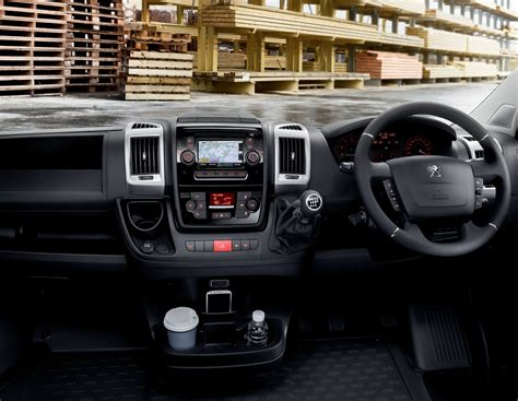 peugeot interior peugeot boxer try the big company van by peugeot
