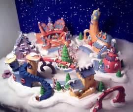 Whoville Christmas Village