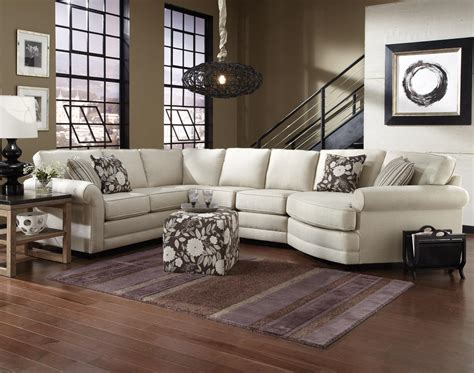 england brantley  seat sectional sofa  cuddler dunk