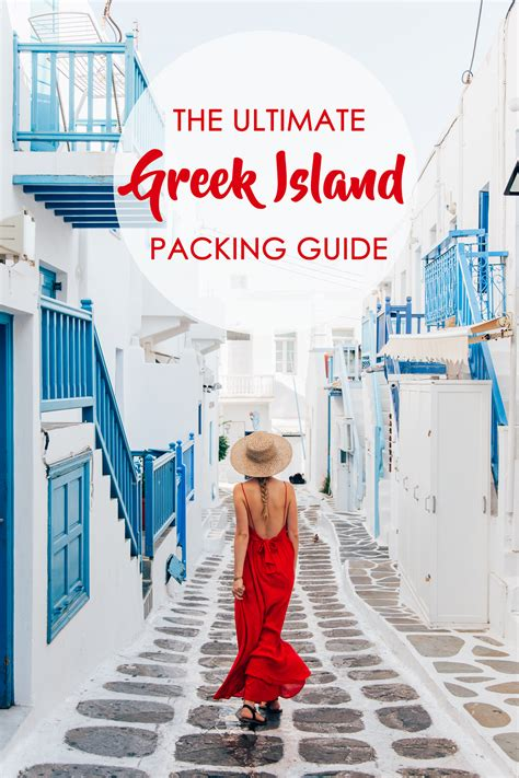 What To Pack For A Week In The Greek Islands Polkadot