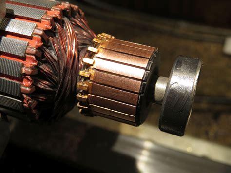 Commutator Electric Motor by Vacuum Cleaner Motor Commutator Cleaning